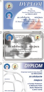 Dyplomy okolicznościowe na różne okazje