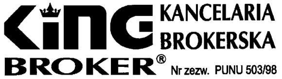 King broker ubezpieczenia